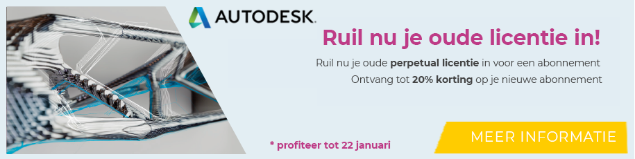 Ruil je oude licentie in!